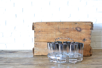 Ombre Silver Glassware (Set of 8)