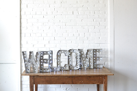 Marquee Letters - WELCOME