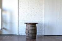 Barrel with Wooden Top