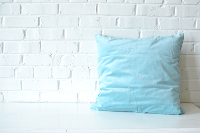 Pillow - Blue Square