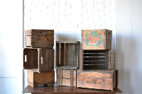 Collection of Wooden Crates
