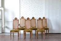 Herringbone Dining Chairs