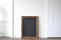 Frame #W8 with Chalkboard