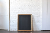 Frame #G6 with Chalkboard