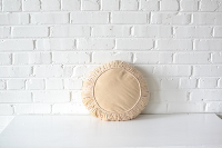 Pillow - Round Cream