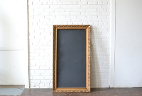Frame #17 with Chalkboard