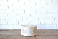 Painted Hatbox - Yellow
