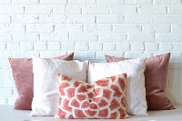 Collection of Pillows - Pink