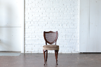 Caned Shield Back Chair