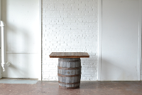 Square Barrel Table
