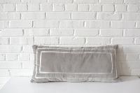 Pillow - Gray Rectangle