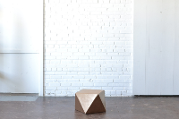 Small Geometric End Table