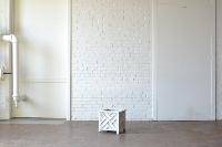 Small White Planter Box