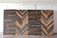 16' Wooden Backdrop