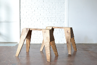 Stained Sawhorse