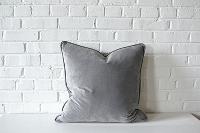 Pillow - Gray Velvet