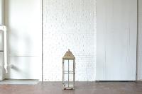 Large Wooden Paned Lantern
