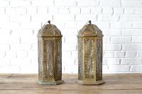 Brass Moroccan Lantern