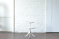 White Two-Tier Table