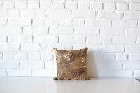 Pillow - Square Gold Sequin