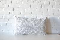 Pillow - Gray Diamond Lumbar