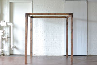 Stained Wooden Arbor
