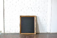 Frame #10 with Chalkboard
