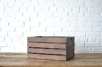 Wooden Crate #1