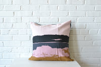 PIllow - Pink Modern Square