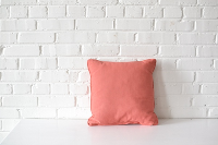 Pillow - Pink Square