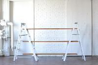 White Ladder Shelving