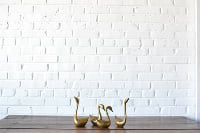 Collection of Brass Swans (4 pcs)