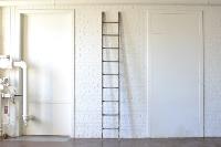 Long Wooden Ladder