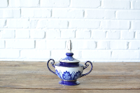Blue & White Sugar Bowl