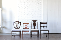 Wooden Upholstered Dining Chairs