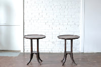 Pair of Pie Crust End Tables
