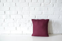 Pillow - Square Burgundy