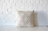 Pillow - Square Neutral Diamond