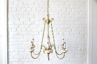 Brass Chandelier #2