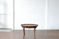 Scalloped Edged Coffee Table