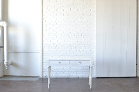 White Vanity Desk