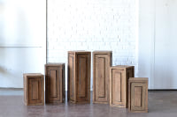 Collection of Wooden Pedestals