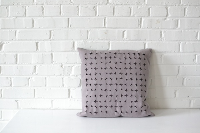 Pillow - Geometric Cut Out Square
