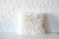 Pillow - White Sheepskin