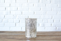 Large Mercury Glass Vase