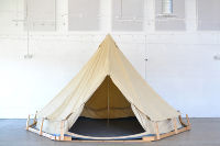 Canvas Tent with Frame