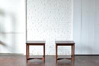 Pair of Mahogany End Tables
