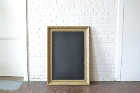 Frame #12 with Chalkboard