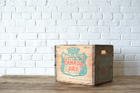 Wooden Crate #8 (Canada Dry)