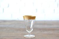 Gold Rimmed Goblet